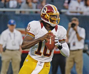 Robert Griffin III - actionshot photo