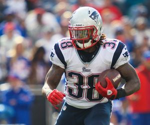 Brandon Bolden - actionshot photo