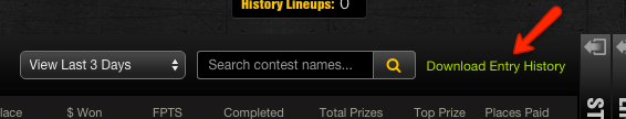 DraftKings History Step 3