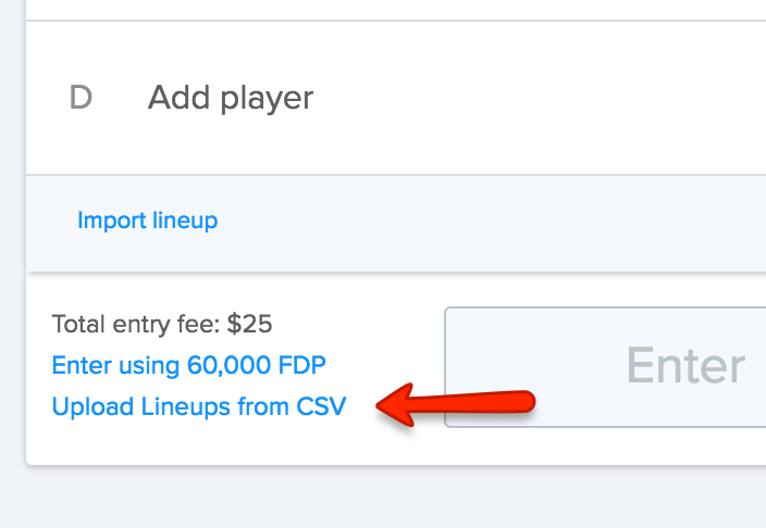FanDuel Export Step 3
