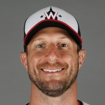 Max Scherzer strikes out 10 in win Tuesday photo