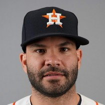 Jose Altuve scratched from lineup Thursday with soreness in side photo