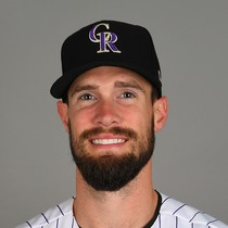 David Dahl knocks a solo shot in win photo