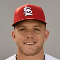 Harrison Bader scores twice Friday photo