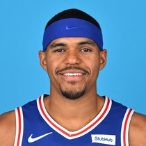 Tobias Harris scores 18 against the Kings photo