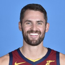 Kevin Love teases double-double Monday photo