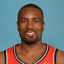 Serge Ibaka falls one rebound short of back-to-back double-doubles photo