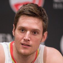 Luke Babbitt sees nine minutes in Wednesday's loss photo