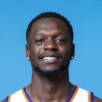 Julius Randle had a double-double against the Nuggets photo