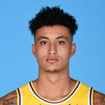 Kyle Kuzma sported his third double-double for the month of March photo