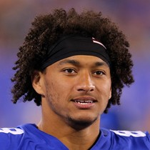 Evan Engram catches one pass in win over the Chiefs photo