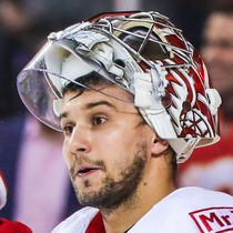 Petr Mrazek shines in net shutting out the Rangers photo