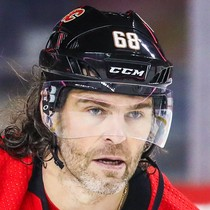 Jaromir Jagr with an assist Monday versus the Capitals photo