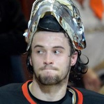 John Gibson gets the W vs arch-rival Kings photo