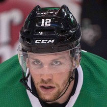 Radek Faksa with two goals Monday versus Winnipeg photo