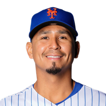 Carlos Carrasco strained his right hamstring during sim game photo