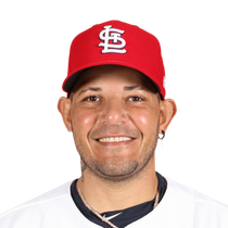 Yadier Molina reaches base three times Wednesday photo