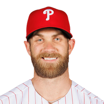 Bryce Harper (face) returns to lineup Sunday photo