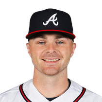 Sean Newcomb takes the loss Wednesday night photo