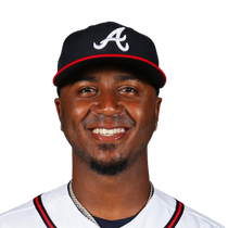 Ozzie Albies removed from Friday's game after HBP photo