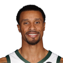 George Hill stashes eight point in game one spot start loss. photo