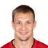 Rob Gronkowski (TE - TB) - Rob Gronkowski suspended 1 game for late hit