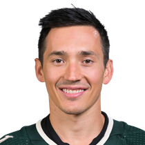 Jared Spurgeon records the first hat trick of his career on Friday photo